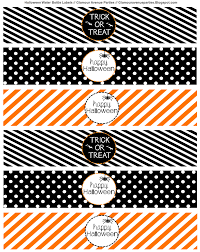 halloween water bottle label templates u2013 festival collections