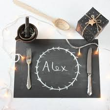 733 Best Chalky Finish Images by Chalkboard Christmas Placemats Disposable Black Chalky