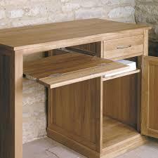Pedestal Computer Desk Mobel Oak Single Pedestal Computer Desk Hallowood