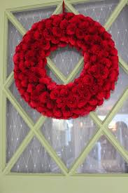 xmas decorations target black friday love my new red wreath on my green door smith and hawken via