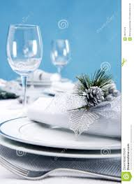Formal Dinner Place Setting Catering Formal Place Setting Stock Photo Image 58027479