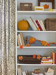 Decorating With Fall Leaves - fall decorating ideas for home hgtv and holidays halloween