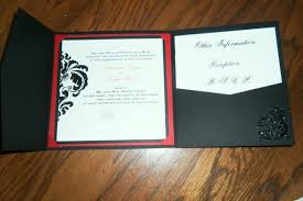 tri fold wedding invitations our diy tri fold invitations wedding black diy invitations