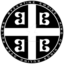 Byzantine Empire Flag Byzantine Empire 4 B U0027s Seal Black N White By Williammarshalstore