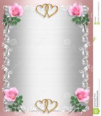 wedding invitation pink satin shabby chic stock illustration