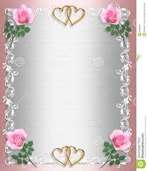 wedding invitation pink satin shabby chic stock illustration