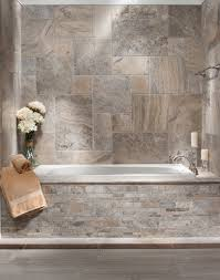 your floor and decor brushed travertine bath traditional bathroom atlanta by
