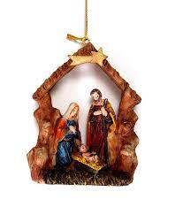 resin ornament 4 nativity jesus