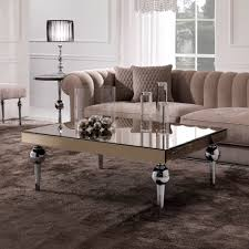 estelle mirrored coffee table instyle decor com luxury coffee tables cocktail tables luxury