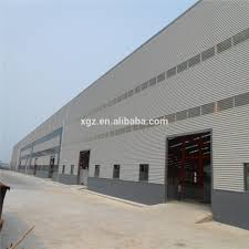 steel structure fabrication prefab steel farm warehouse light