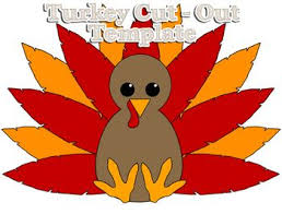 thanksgiving templates u2013 cute turkey u2013 thanksgiving blessings