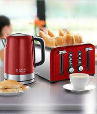 Toaster And Kettle Set Red Russell Hobbs Windsor Cream Jug Kettle 22820 U0026 4 Slice Toaster