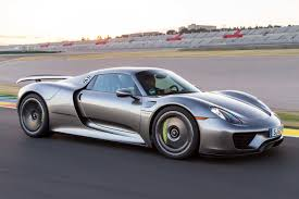 gold porsche 918 the 9 quickest cars in the world