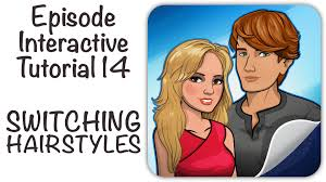 personalizing your hairstyle for a younger look episode interactive tutorial 14 switching hairstyles youtube