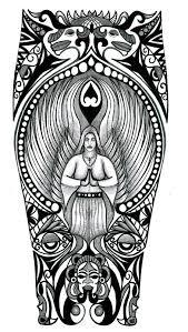 viking nordic tribal halfsleeve com