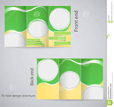 e brochure design templates tri fold brochure design stock vector illustration of fashion