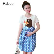 cool maternity clothes fashion summer polka dot maternity dresses for women