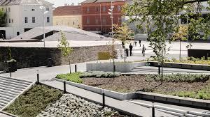 dunakapu square and underground parking garage projektek