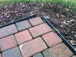 Lowes Patio Pavers by Decor How To Install Lawn Edging Metal Edging Lowes Metal