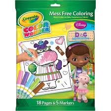 crayola color disney doc mcstuffins coloring book