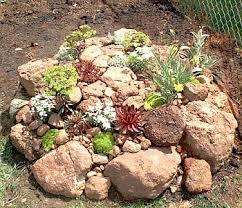 build a rockery garden