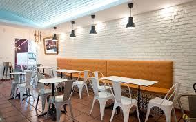 Interieur Mit Rustikalen Akzenten Loft Design Bilder Restaurant Backstein Weiss Ladrillo Loft Blanco Backstein