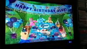 closing to blue u0027s clues blue u0027s birthday 1998 vhs video dailymotion