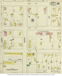 Map Of Waco Texas Sanborn Maps Of Texas Perry Castañeda Map Collection Ut