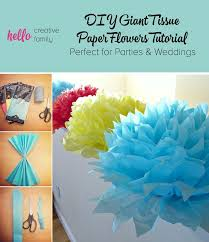 Making Flowers Out Of Tissue Paper For Kids - best 25 tissue paper flowers ideas on pinterest tissue paper