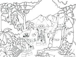 free coloring page of the rainforest coloring pages jungle clever jungle coloring pages free coloring