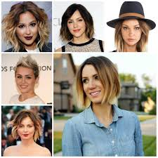Trendy Colors 2017 2016 Trendy Short Haircuts In Ombre Hair Colors 2017 Haircuts