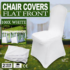 White Folding Chair Covers Emart Set Of 50pcs White Color Polyester Spandex Banquet Wedding