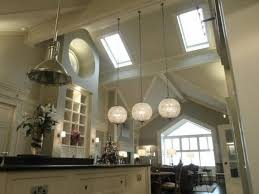 High Ceiling Light Fixtures Artistic Lights For High Ceilings Kitchen Using Pendant Light