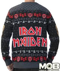 band sweaters iron maiden band to sweaters metalsucks