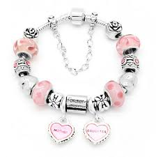 charm bracelet with beads images Mother daughter charm bracelet forever together mystik charms jpg