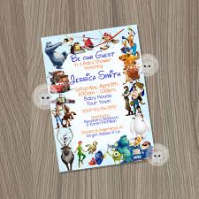 baby shower invitation for boys disney baby shower baby boy