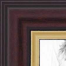 14x17 diploma frame arttoframes 14x17 inch cherry stain wood picture