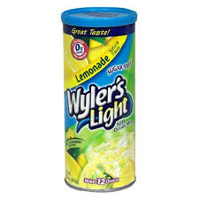 wyler s light singles to go nutritional information wyler s light sugar free drink mix lemonade 3 13 ounce pack of 12