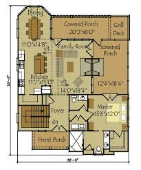 Cottage House Plans With Basement Small Cottage Plan With Walkout Basement Cottage Floor Plans