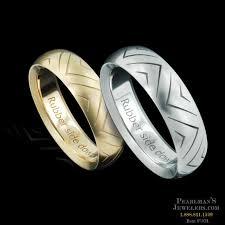 rubber wedding band steven kretchmer jewelry kretchmer rubber side band
