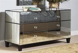 cheap bedroom dresser bassett mirror 6 drawer chelsea mirrored dresser w cappuccino