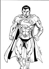 classic superman warm up sketch by fanboy67 on deviantart