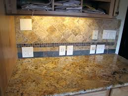 Tumbled Slate Backsplash by Tumbled Stone Tile Backsplash Tumbled Stone Tile Custom With