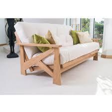 oak futon sofa bed oak futon furniture shop