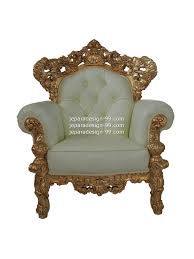 Single Seater Couch Single Seater Sofa Sf 001 Ss Std Gold Leaf