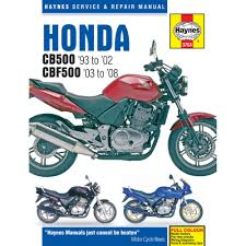 3753 cb500 twin 93 01 haynes manual