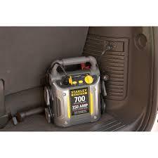 stanley u0027fatmax u0027 700 amp peak jump starter with compressor u0026amp