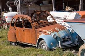 rusty car driving free stock photo 1128 old 2cv 1576 jpg freeimageslive