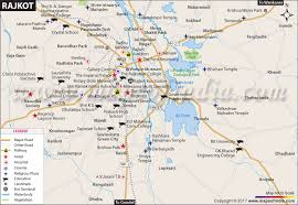 map of rajkot city map