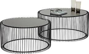 Wire Coffee Table Kare Design Wire Coffee Table Metal Black Co Uk Kitchen